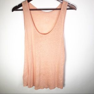 J. Crew 100% Linen Sleeveless Casual Tank Small